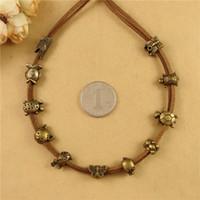 Wholesale Turtle Pig - DIY jewelry accessories wholesale retro Zakka bronze color beads, crocodile fish turtle cat bird charms, butterfly pig bear turtoise bead