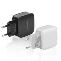 Top Qualtiy QC 3.0 US Adaptive Fast Charging Accueil Travel Wall Charger Câble USB câble usb pour Samsung Galaxy