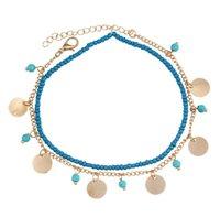 accessoires bijoux turquoise achat en gros de-Nouveau Charme Perles Bracelets Femmes Boho Turquoise Bracelet Bracelet Pour Déclaration Femmes Bijoux Cadeau D'été Accessoires D'été