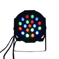 Discount american dj par led - American DJ LED Flat Par SlimPar No Noise 19x3W RGB 3 7Channels