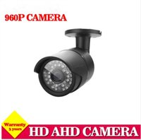 Wholesale Night Time Security Cameras - Analog 720P 960P 1.3MP real time AHD-M security Camera with IR-CUT filter Night Vision CCTV Camera CCTV AHD-H DVR recorder DVR