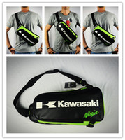 Wholesale Tank Bags Backpack - 2017 High quality Motorcycle Backpack Shoulder bag Chest bags off-road Multifunctional Sport bag For Kawasaki Komine Bag