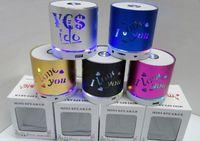 Wholesale Remote Disk - New Q609 Colorful Flash IOVE YOU Wireless Bluetooth Speaker SUBWOOFER TF Card U Disk FM Remote Control Autodyne Telephone