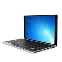 Wholesale Umpc Laptops - New Original GPD Pocket 7 Inch Aluminum Shell Mini Laptop UMPC Windows 10 System CPU x7-Z8750 8GB   128GB ( Silvery)