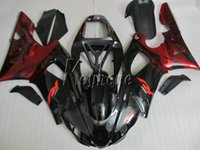 Wholesale Motorcycle Fairings Yamaha R1 - New hot motorcycle fairing kit for yamaha YZF R1 1998 1999 wine red black fairings set YZF R1 98 99 IY20