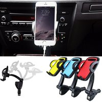 Wholesale Iphone5 Smartphone Cell Phone - 360 degree Car Windshield Mount cell mobile phone Mounts & Holders Bracket stands for iPhone5 4S for samsung Smartphone