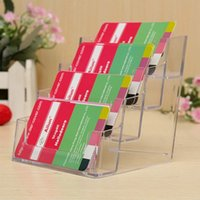 Wholesale Display Desk - Business Card Holder Stand Display Table Desktop Business Card Holder Stand Box for Office Table Desk School