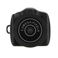 Wholesale Hidden Miniature Camera - The new hot sale Y2000 mini hd camera small mini pocket DV DVR camera hidden webcam miniature camera records