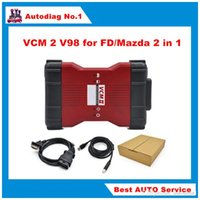 Wholesale Ford Single - New Arrive V98 VCM II IDS Diagnosis tool green single Board For Fd   Mazda VCM 2 VCM2 OBD2 Scanner Free shipping