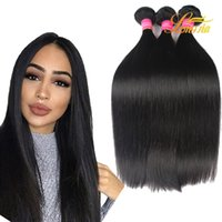 Wholesale Factory Price Wholesale Indian Hair - Mixed length Indian Virgin Human Hair Straight Factory Price Straight Brazilian Peruvian Indian Malaysian Mongolian Hair Weft Straight