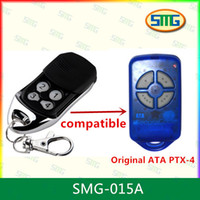 Wholesale Ata Remote Control - Free Shipping 433.92MHZ ATA remote control compatible ATA PTX-4 rolling code remote, DC12 27A battery, transmiiter receiver opener
