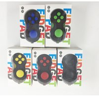 Wholesale Desk Science - Game Controllers Magic Fidget Pad Cube Gamepad Children Desk Toy Adults Stress Relief ADHD Relieves Squeeze Decompression Hand FunToys