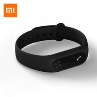 Wholesale Hot Portuguese - Wholesale- 2017 Hot Sale Limited French Xiaomi Mi Band 2 Smart Bracelet Wristband Miband Heart Rate Monitor Fitness Tracker Smartband