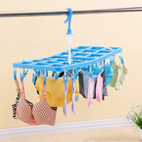 Wholesale Wholesale Underwear Used - 9337 Daily use Thicker Bold Plastic drying racks Home hangers Bra underwear Drying racks sock rack