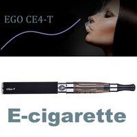 Wholesale Electronic Cigarette Double Pack - EGO CE4-T E-cigarette Kits 650mah 900mah 1100mah 1.6ML Atomizer E-cig Battery Double Packing Zipper Case Electronic Cigarette