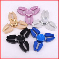 Wholesale United Toys - Fidget Spinner Metal Single Handedly Hand Spinners Crab Gyro Finger Toy United States EDC Spinning Top For Decompression Anxiety