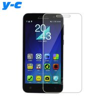 Wholesale A8 Cam - Wholesale-For Lenovo A806 Tempered Glass New Good Quality Temperli Cam Steel Screen Protector Film For Lenovo A8 A808t Phone