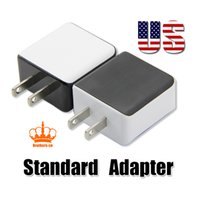 Wholesale Plug Standard - for iPhone 8 Samsung note 8 Wall Charger QC2.0 Fast Charger 5V 2.5A Output USB US Standard Plug Adapter High Quality