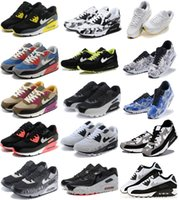 Wholesale Classic Taupe - Mens Sneakers Shoes classic 90 Men and women Casual Shoes Black Red White Sports Trainer Air Cushion Surface Breathable Sports Shoes 36-46