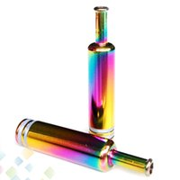 Wholesale drip tip rainbow for sale - Group buy Colorful Rainbow Drip Tips Metal Mouthpieces for DCT CE5 CE6 Nova Atomizer Clearomizer Electronic Cigarette