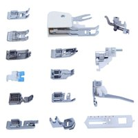 Wholesale Sewing Presser Foot Kits - Universal 15PCS Sewing Machines Presser Feet Foot Kit Set