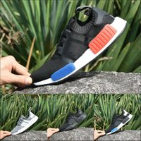 Wholesale New Cheap NMD Runner Primeknit Sales Boost Running Shoes Boots NMD Runner Sports Shoes Men Woman Sneakers With Box