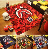 Wholesale Super Soft Bedding - Free Shipping Blanket Bathing aape Blanket super Soft Fleece Blanket on the bed Sofa Blanket, 150*200cm