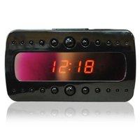 часы для обнаружения движения оптовых-1080P часы камера с ночного видения пульт дистанционного управления Full HD будильник DVR няня камеры обнаружения движения видеомагнитофон V26