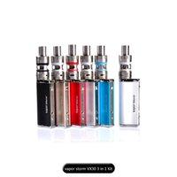 Wholesale Storm Vape - authentic Newwest E-Cigarettes Vapor Storm Vape VX30 8.5v 30w 3-in-1 Box Mod kits shisha Dry herb vaporizer