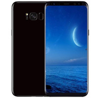 Wholesale Android Phones Dual Core - Goophone S8 S8+ smartphone 5.6inch MTK6592 Octa Core shown 4G LTE Android 7.0 Unlocked 3G RAM 64G ROM NFC Cell phone