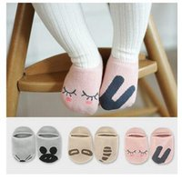 Wholesale Autum Girl - Baby Socks Girl Boy Cotton Non-Slip Sock 17 Styles Autum Winter Infant Cartoon Socks With High Quality Chrismas Fashion Floor Socks