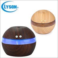ingrosso luce di mini dimensioni ha condotto-Mini umidificatore ad ultrasuoni a 2 colori mini formato LED Night Light con nebbia fredda per home office