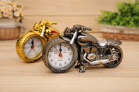 Wholesale antique style furniture - Manufacturers Wholesale Creative Fashion Retro Motorcycle Alarm Clock Home Accessories Children Toys Gifts Fashion Furniture Novelty Ornamen