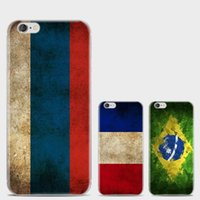 Wholesale Country Flags Iphone Cases - hot sale cell phone case ultra thin country flag printing tpu cover case for iphone 7 7s plus 6 6s plus