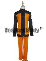 cosplay kostümü naruto shippuden toptan satış-Naruto Shippuden Naruto Uzumaki Cosplay Kostüm