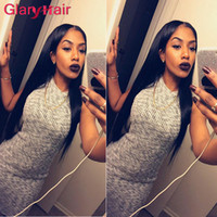 Wholesale Real Remy Hair Sale - Glary Hot Sale Real Human Hair Extensions Wefts Mink Brazilian Hair Bundles Straight Unprocessed Virgin Hair Bundles 4 5 6 Pcs a lot