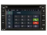 Wholesale Dvd Stereo Navigation Nissan - Navirider 2GB ram octa core Android 6.0 Car DVD player GPS for Nissan Universal Old radio audio headunit DVR 3G GPS navigation tape recorder