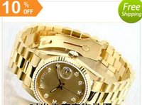 Wholesale Cheap Hand Watches - gold good man with brand new drop shipping Mechanical cheap High quality Automatic master men watch luxury sports Men's Watches