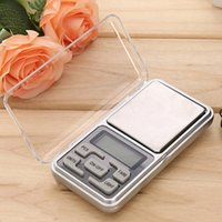 Wholesale Weight Scale Oz - wholesale Mini jewelry pocket LCD Digital Scale Electronic Scale Weight Scale backlight 500G 0.01G g tl oz ct