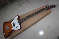 Wholesale Bass Guitar Thunderbird - Wholesale- Wholesale High Quality Newest 4 strings G Thunderbird IV VSunburst bass Guitar Free Shipping
