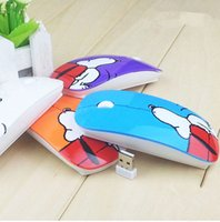 Wholesale Mouse Pad Cartoons - Factory Supply Fashion Snoopy 2.4G Optical Wireless Designer USB Mouse Cartoon Mice With Gift Pad For Computer PC Laptop Desktop