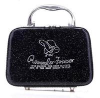 bolsas de cosméticos multifuncionales al por mayor-Moda Mini embrague Cruz PU Cosméticos multifuncional Bolsa de maquillaje Bolsa de aseo Caso de bolsa de aseo