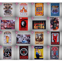 Wholesale Metal Signs Wholesale - 40 Styles Tin Sign Metal Plate Vintage Retro Home Decor Tin Signs Bar Pub Cafe Garage Decorative, Metal Sign Art Painting Plaque