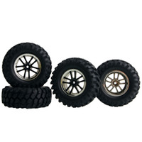 Wholesale Rc Buggy Hpi - RC HSP HPI 26-7006 Black Rubber Sponge Tire&Plastic Wheel For 1:10 Rock Crawler