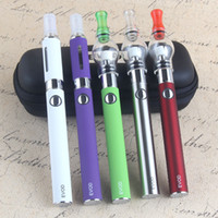 EVod 4 em 1 Vaporizador de ervas secas Kit de iniciação Vape Pen with Wax Glass Globe Single Cotton Coil MT3 Eliquid Ago 4 Atomizer