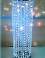 lámparas de mesa centros de mesa al por mayor-Magníficos centros de mesa de araña de mesa para bodas