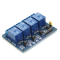 Wholesale single relay module resale online - 12V Channel Relay Module with Optocoupler PIC AVR ARM for Single Chip