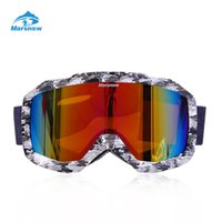 snowboard goggles canada s8hw  Wholesale- Marsnow Ski Goggles Double UV400 Anti-fog Big Ski Mask Glasses  Skiing Men Women Snow Snowboard Goggles from dropshipping suppliers