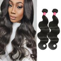 Wholesale Ali Queen - Brazilian Virgin Hair 4Bundles Brazilian Body Wave Human Hair Extension Ali Queen Hair Products Peerless Brazilian Body Wave Weave Bundles