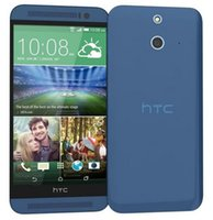Wholesale One Android Phone 13mp - Refurbished Original HTC One E8 Unlocked Cell Phone Quad Core 2G 16G Android 6.0 13MP